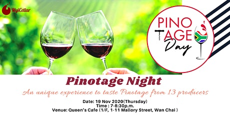 Pinotage Night - An unique experience to taste Pinotage from 13 producers tickets
