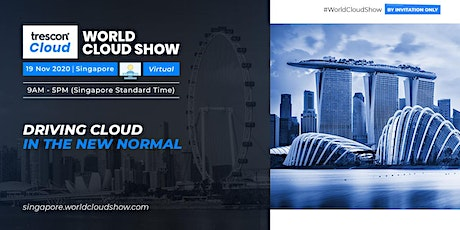 World Cloud Show – Singapore tickets