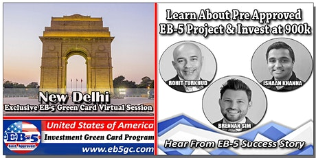 Delhi EB-5 American Green Card Virtual Market Series tickets