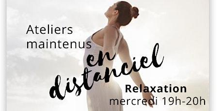Ateliers de relaxation Biosappia® - En distanciel billets