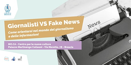 Giornalisti VS Fake News biglietti