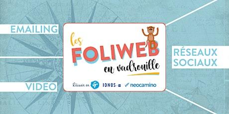 Nantes/Ancenis/St Nazaire : Matinée RS,  emailing et vidéo marketing billets