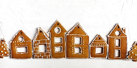 KIDS Gingerbread house decorating tickets