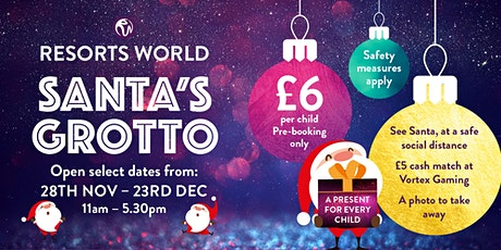 Santa's Grotto at Resorts World tickets