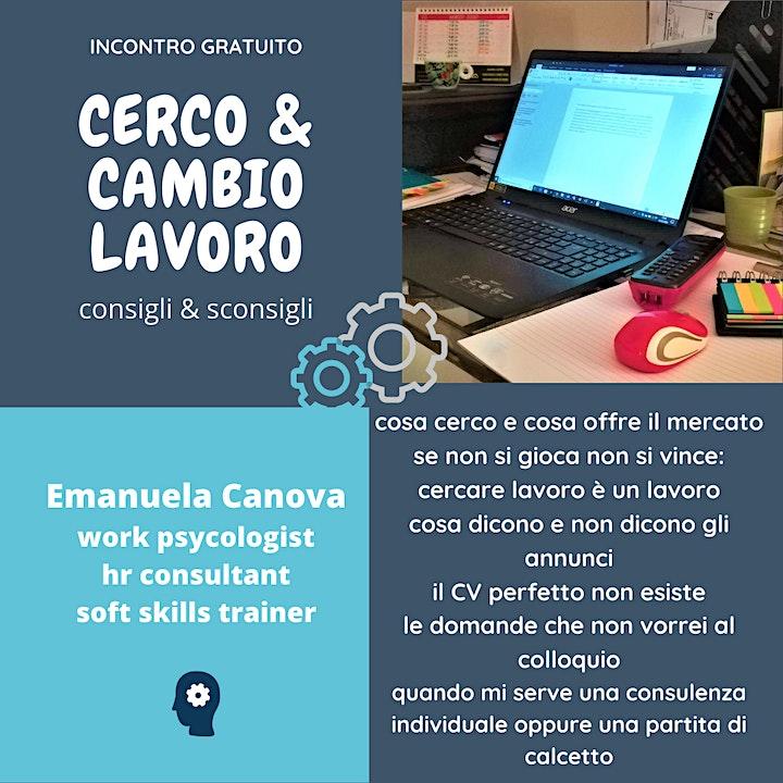 Immagine CERCO & CAMBIO LAVORO