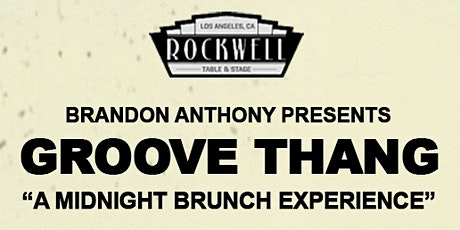 Groove Thang tickets