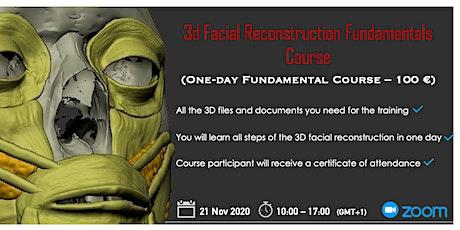 3D Forensic Facial Reconstruction Fundamentals tickets