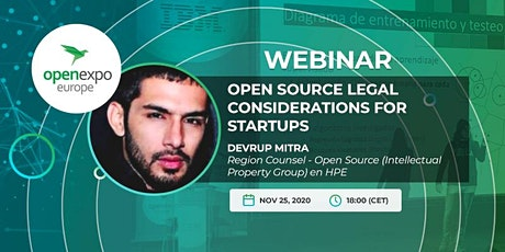 Open Source legal considerations for startups tickets