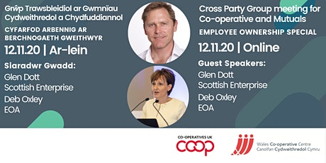 Cross Party Group Meeting November 2020: Employee Ownership Special tickets