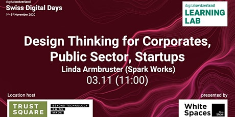 Design Thinking for Corporates, Public Sector, Startups