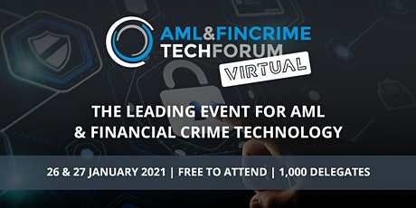 AML & FinCrime Tech Forum - Virtual tickets