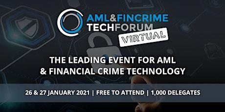 AML & FinCrime Tech Forum - Virtual tickets