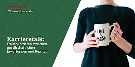 Oracle Karrieretalk mit Sabine Falke-Ibach und Prof. Dr. Anja Lüthy Tickets
