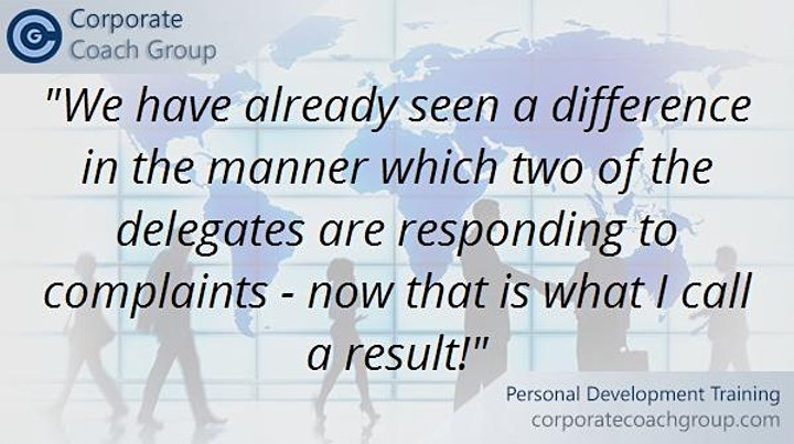Handling Difficult People Workshop (1 day Manchester Salford) image