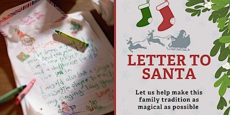 Letter to Santa - Sunday November 22nd tickets