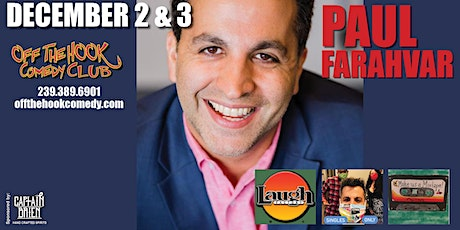Comedian Paul Farahvar Live in Naples, Florida tickets
