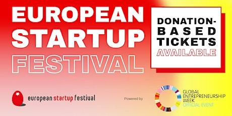 European Startup Festival 2020 - online edition tickets