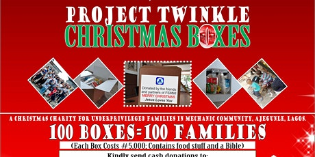 Project Twinlke Christmas Boxes tickets