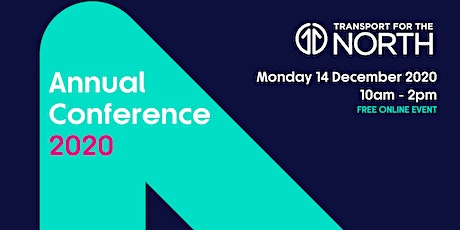 Transport for the North Annual Conference 2020 tickets