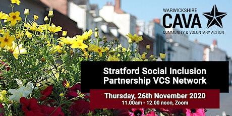 Stratford Social Inclusion Partnership VCS Network tickets