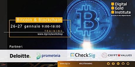 Bitcoin & Blockchain biglietti