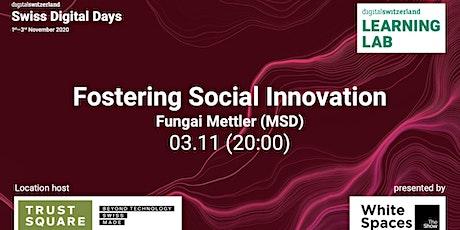 Fostering Social Innovation