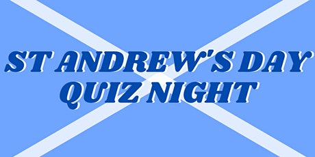 St Andrew's Day Quiz tickets