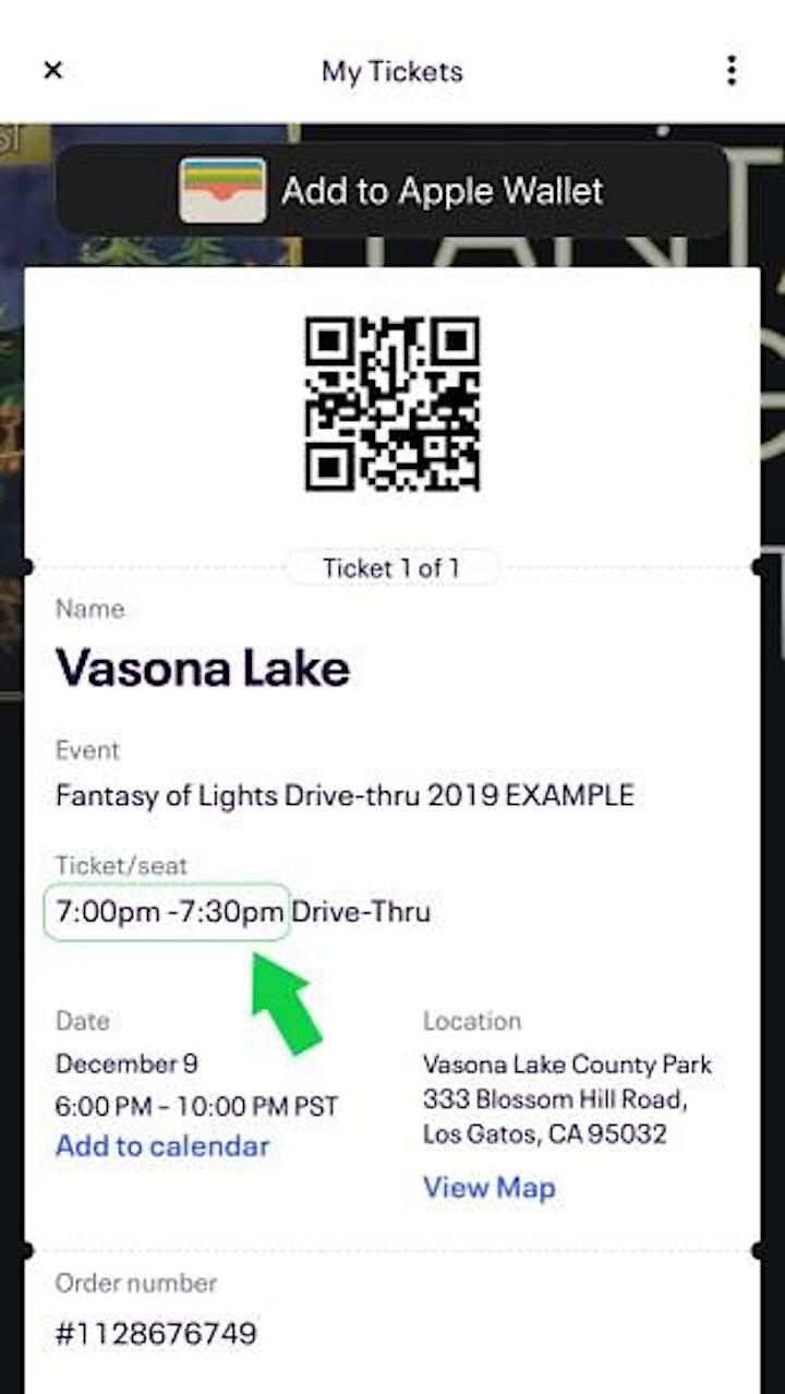 Fantasy of Lights Drive-Thru 2020 image