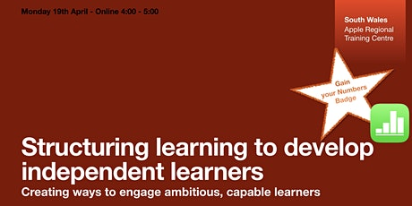 Structuring learning to develop independent learners tickets