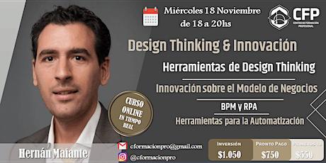 Design Thinking e Innovación de Modelos de Negocios entradas