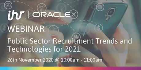Public Sector Recruitment Trends and Technologies for 2021 tickets