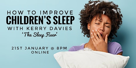 Improving Sleep  - specialist webinar tickets