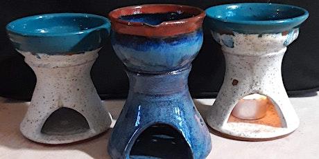 Wax Melt/Oil Burner pottery class outside the Marina Centre Ballyronan tickets