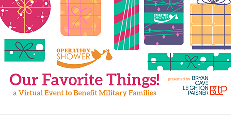 """Operation Shower's """"Our Favorite Things"""" Virtual Event tickets"""