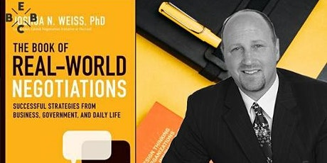 EBBC Leuven/online - The Book of Real-World Negotiations (Joshua N. Weiss) tickets