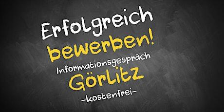 Bewerbungscoaching Online kostenfrei - Infos - AVGS Görlitz Tickets