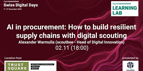 AI in procurement: How to build resilient supply chains with digital scouti