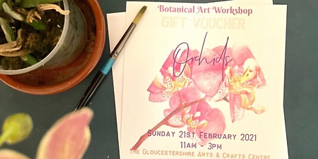 Botanical Art Workshop 'Orchids' Gift Voucher tickets