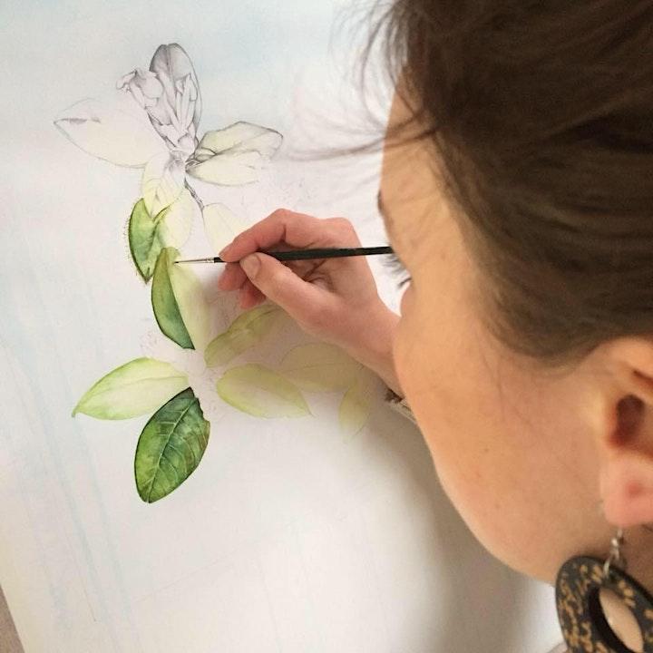Botanical Art Workshop 'Orchids' Gift Voucher image