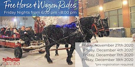 Holiday Horse & Wagon Rides tickets