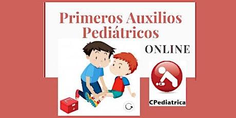 PRIMEROS AUXILIOS PEDIATRICOS  - Curso online EN VIVO dictado  por MEDICOS entradas