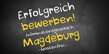Bewerbungscoaching Online kostenfrei - Infos - AVGS Magdeburg Tickets