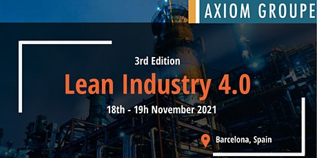 LEAN INDUSTRY 4.0 2021 tickets