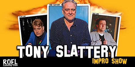 The Tony Slattery Impro Show tickets