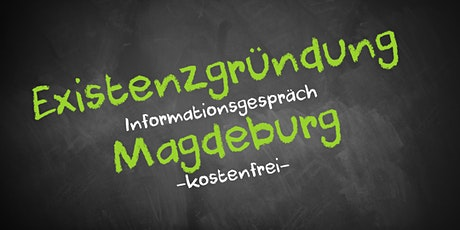 Existenzgründung Online kostenfrei - Infos - AVGS Magdeburg Tickets