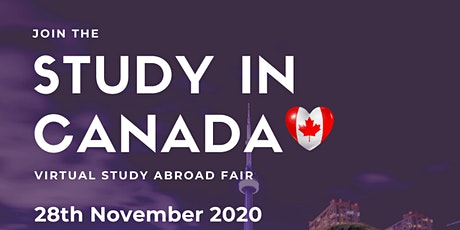 Study in Canada Study Abroad Fair tickets