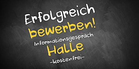 Bewerbungscoaching Online kostenfrei - Infos - AVGS Halle tickets