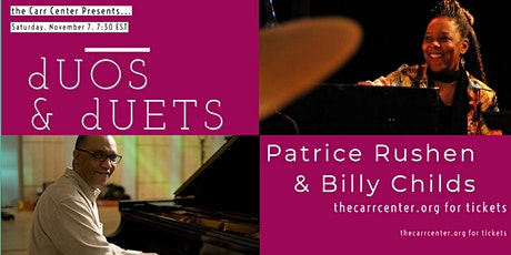 """dUOS & dUETS""  featuring Patrice Rushen and Billy Childs tickets"