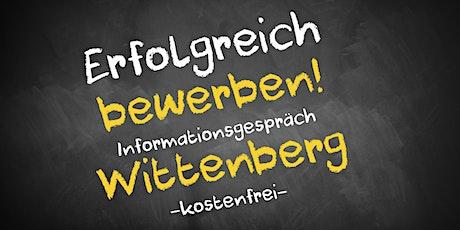 Bewerbungscoaching Online kostenfrei - Infos - AVGS  Wittenberg Tickets