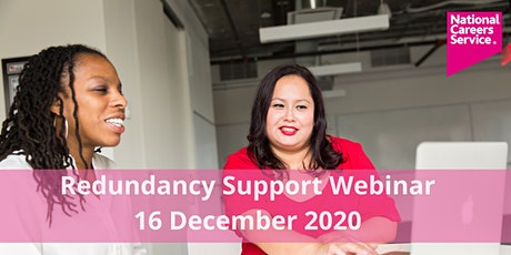 Redundancy Support Webinar tickets